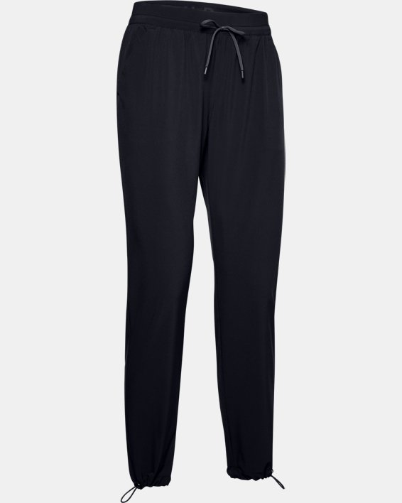 Women's UA Mantra Pants, Black, pdpMainDesktop image number 3