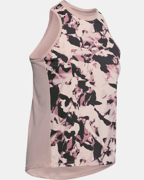 Women's UA Iso-Chill Tank Top, Pink, pdpMainDesktop image number 4