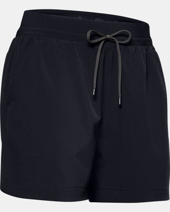 Women's UA Mantra Shorts, Black, pdpMainDesktop image number 3