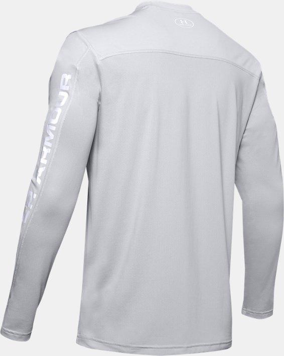 Men's UA Iso-Chill Shore Break Long Sleeve, Gray, pdpMainDesktop image number 5