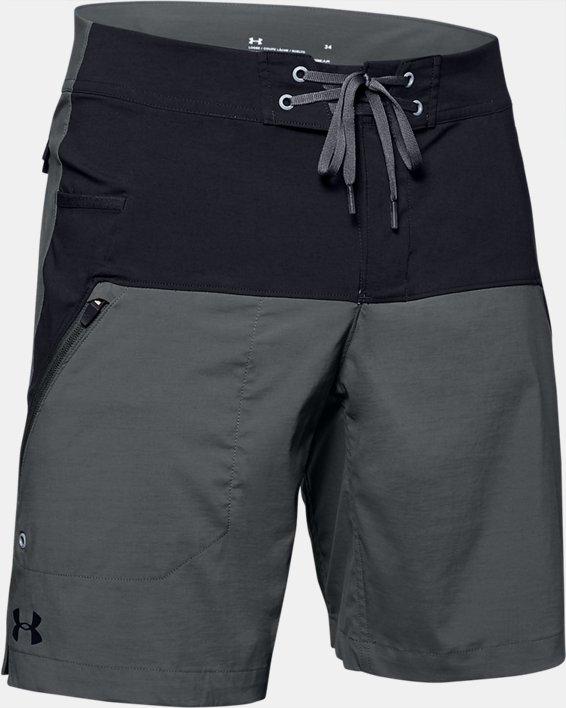 Men's UA Fish Hunter Boardshorts, Black, pdpMainDesktop image number 3