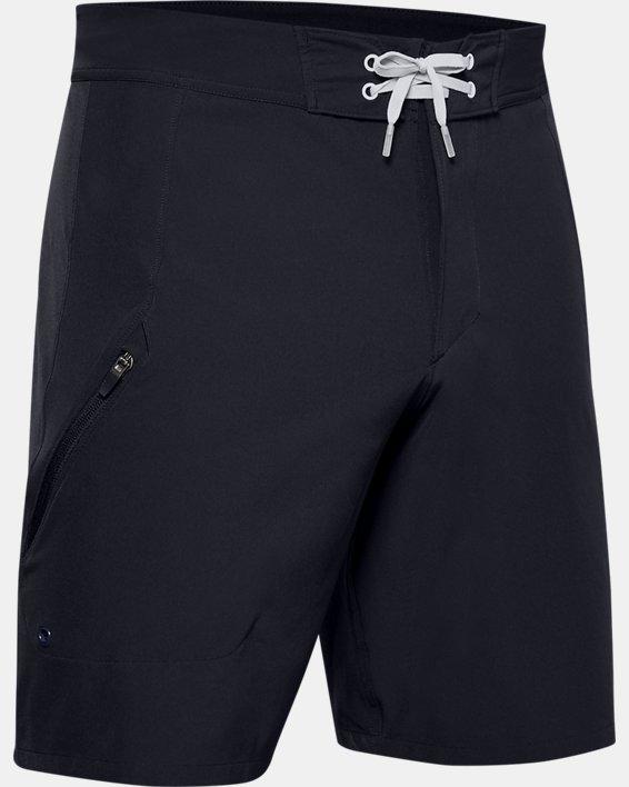 Men's UA Mantra Boardshorts, Black, pdpMainDesktop image number 3