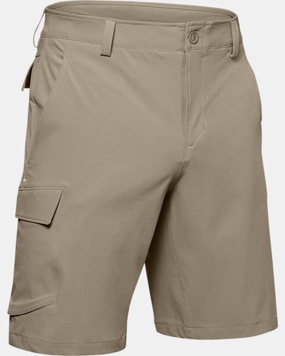 Men's UA Mantra Cargo Shorts, Brown, pdpMainDesktop image number 3