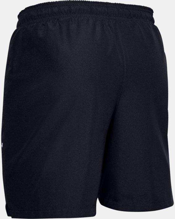 Men's UA Shore Break Volley Shorts, Black, pdpMainDesktop image number 4