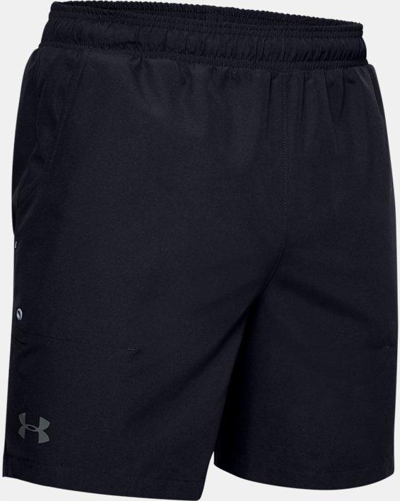 Men's UA Shore Break Volley Shorts, Black, pdpMainDesktop image number 3