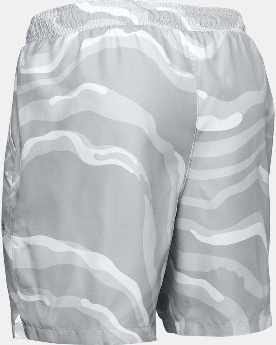 Men's UA Shore Break Volley Shorts, White, pdpMainDesktop image number 4