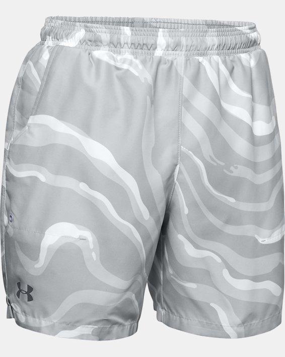 Men's UA Shore Break Volley Shorts, White, pdpMainDesktop image number 3