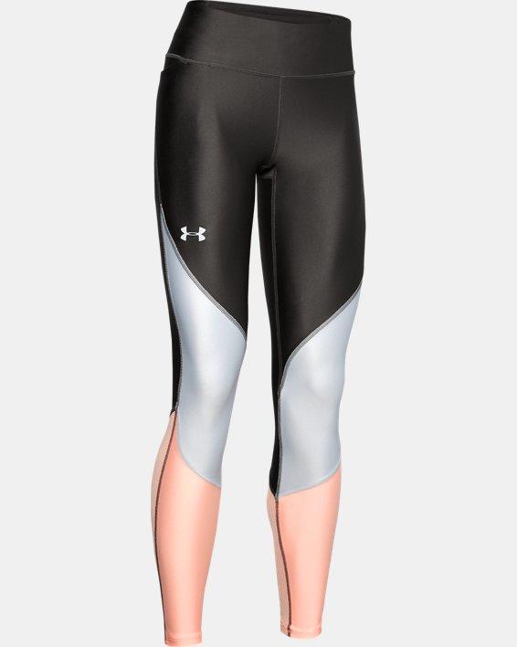 Women's UA Mileage Colorblock Leggings, Gray, pdpMainDesktop image number 4
