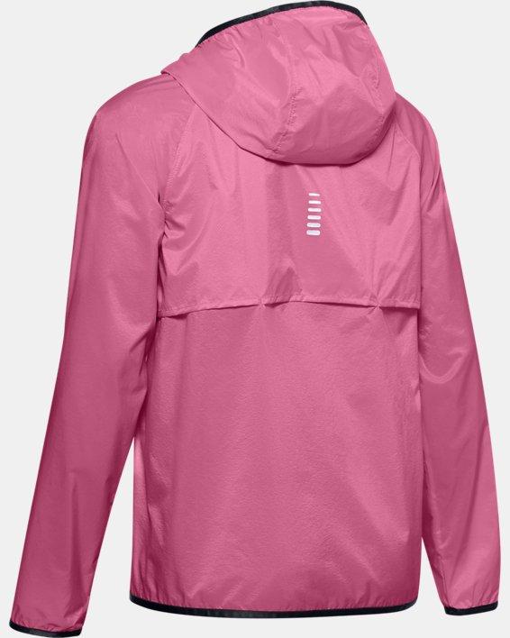 Women's UA Storm Lightweight Jacket, Pink, pdpMainDesktop image number 5