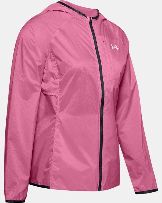 Women's UA Storm Lightweight Jacket, Pink, pdpMainDesktop image number 4
