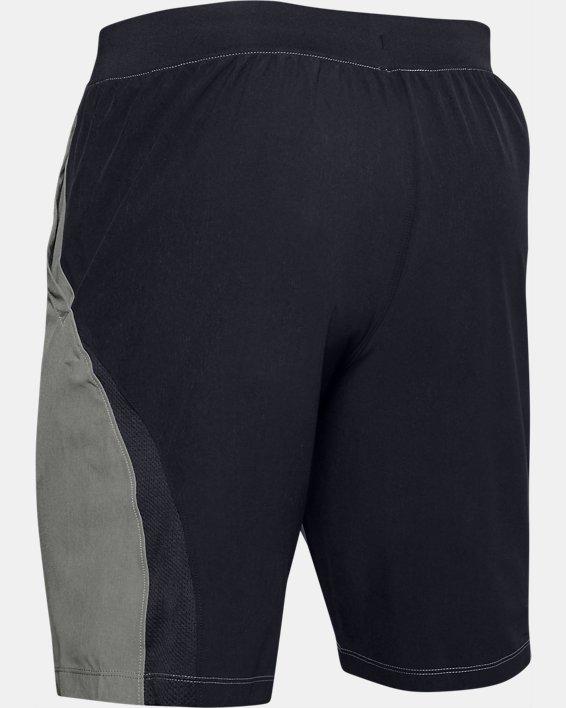 "Men's UA SpeedPocket 9"" Shorts, Green, pdpMainDesktop image number 4"