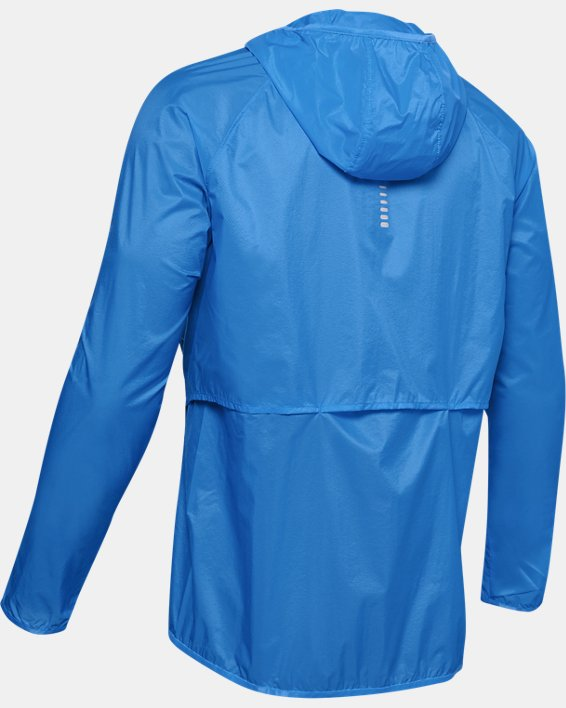 UA Run Storm Lightweight Jkt, Blue, pdpMainDesktop image number 4
