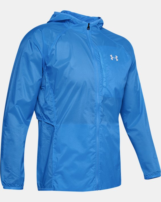 UA Run Storm Lightweight Jkt, Blue, pdpMainDesktop image number 3