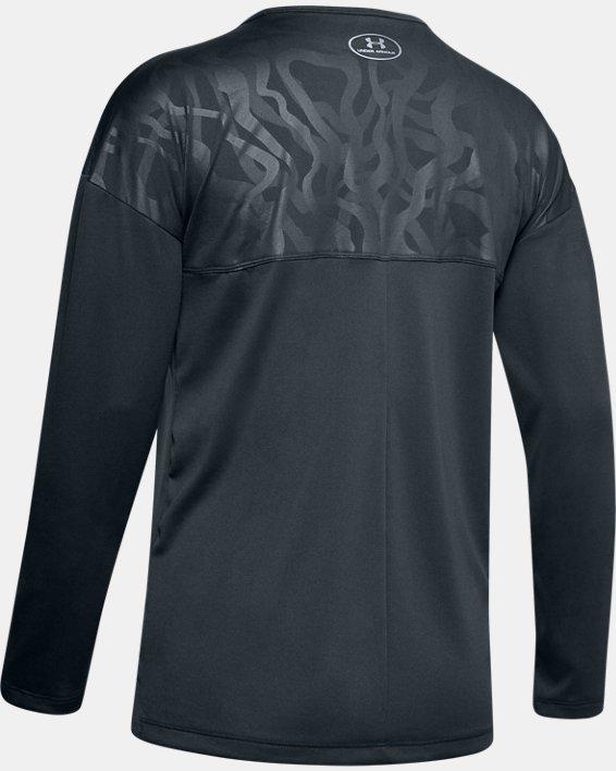 Women's UA Locker Emboss Long Sleeve, Gray, pdpMainDesktop image number 1