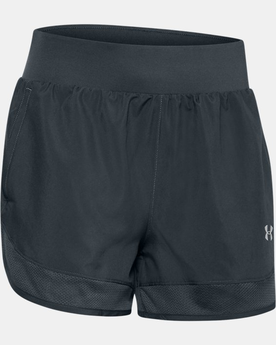Women's UA Locker Woven Shorts, Gray, pdpMainDesktop image number 0