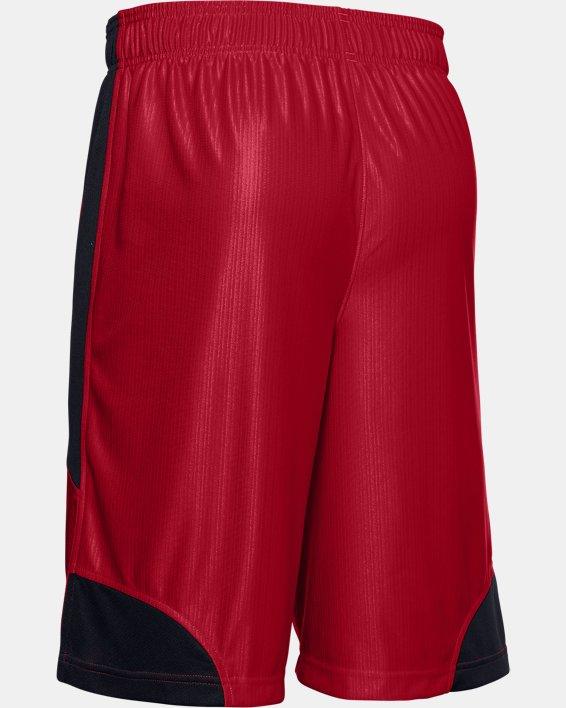 Men's UA Perimeter Shorts, Red, pdpMainDesktop image number 5