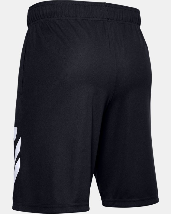 "Men's UA Baseline 10"" Court Shorts, Black, pdpMainDesktop image number 5"