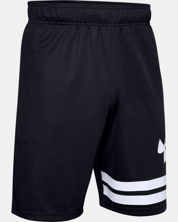 "Men's UA Baseline 10"" Court Shorts, Black, pdpMainDesktop image number 4"