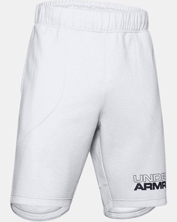 Men's UA Baseline Fleece Shorts, Gray, pdpMainDesktop image number 4