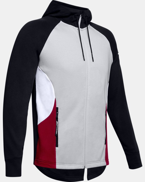 Men's SC30™ Warm Up Jacket, Gray, pdpMainDesktop image number 4