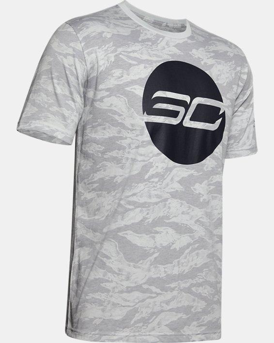 Men's SC30™ Logo Short Sleeve, Gray, pdpMainDesktop image number 4