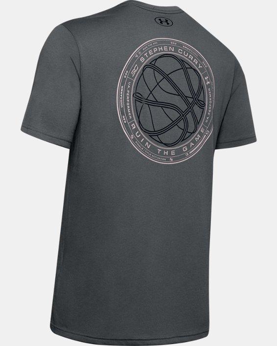 Men's SC30™ Short Sleeve, Gray, pdpMainDesktop image number 4
