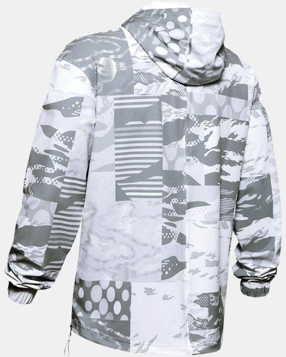 Men's UA Moments Wind Jacket, White, pdpMainDesktop image number 5