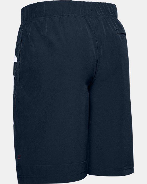 Men's UA Moments Wind Shorts, Navy, pdpMainDesktop image number 5
