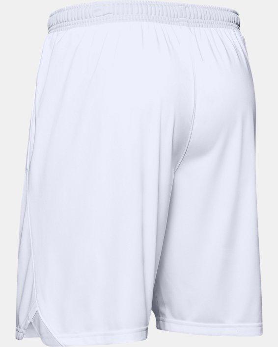 "Men's UA Locker 9"" Pocketed Shorts, White, pdpMainDesktop image number 5"