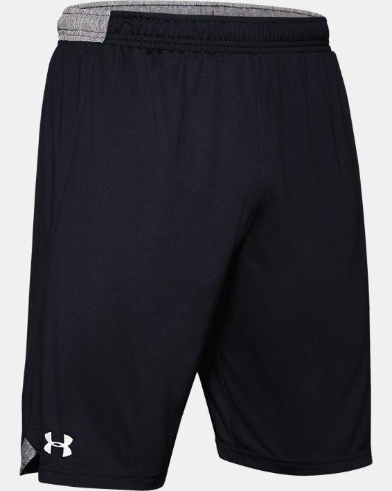 "Men's UA Locker 9"" Shorts, Black, pdpMainDesktop image number 4"