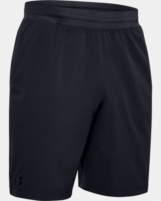 Men's UA Motivator Vented Coach's Shorts, Black, pdpMainDesktop image number 4