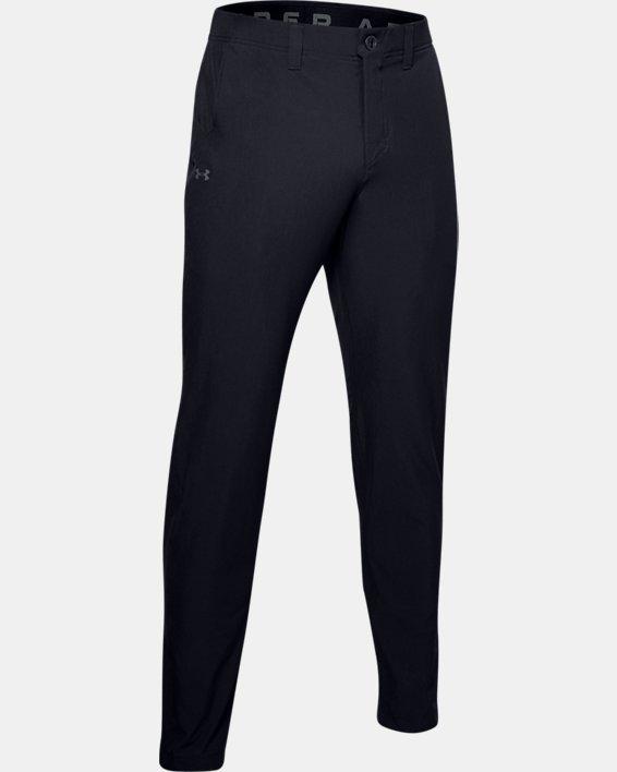 Men's UA Canyon Pants, Black, pdpMainDesktop image number 3