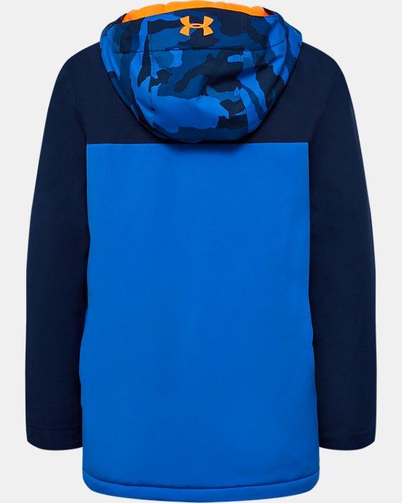 Boys' UA Eagleup Jacket, Blue, pdpMainDesktop image number 1