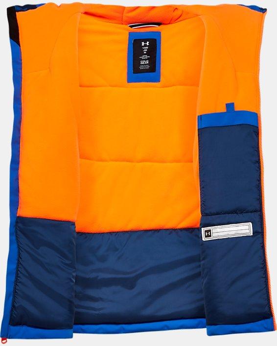Boys' UA Eagleup Jacket, Blue, pdpMainDesktop image number 2