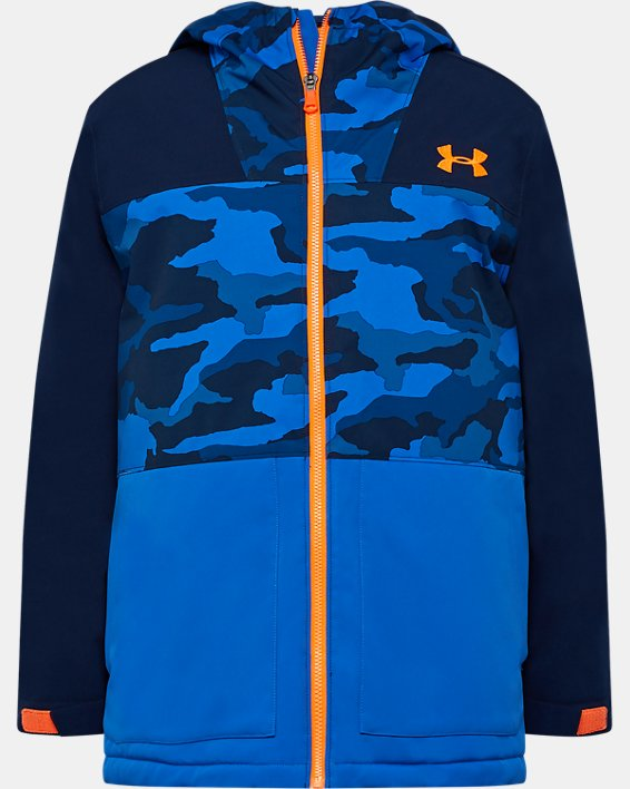 Boys' UA Eagleup Jacket, Blue, pdpMainDesktop image number 0