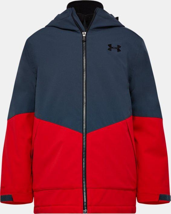 Boys' UA Westward 3-in-1 Jacket, Gray, pdpMainDesktop image number 0
