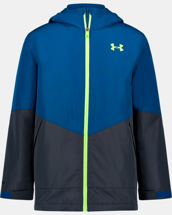 Boys' Pre-School UA Westward 3-in-1 Jacket, Green, pdpMainDesktop image number 0