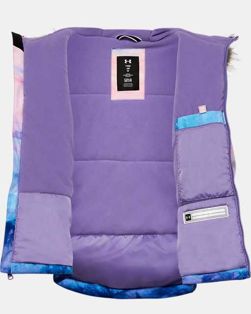 Girls' Pre-School UA Laila Printed Jacket