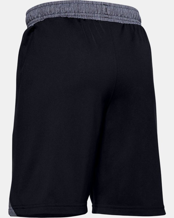 Boys' UA Locker Pocketed Shorts, Black, pdpMainDesktop image number 1