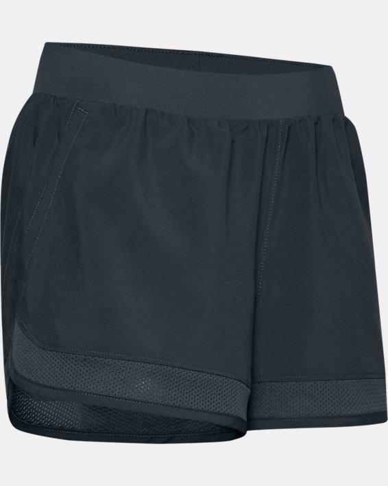 Girls' UA Locker Woven Shorts, Gray, pdpMainDesktop image number 0