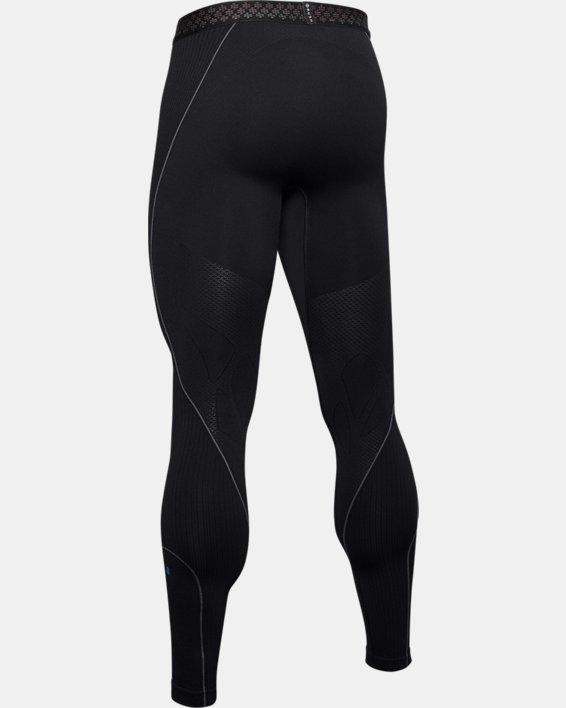 Men's UA RUSH™ Seamless Leggings, Black, pdpMainDesktop image number 6