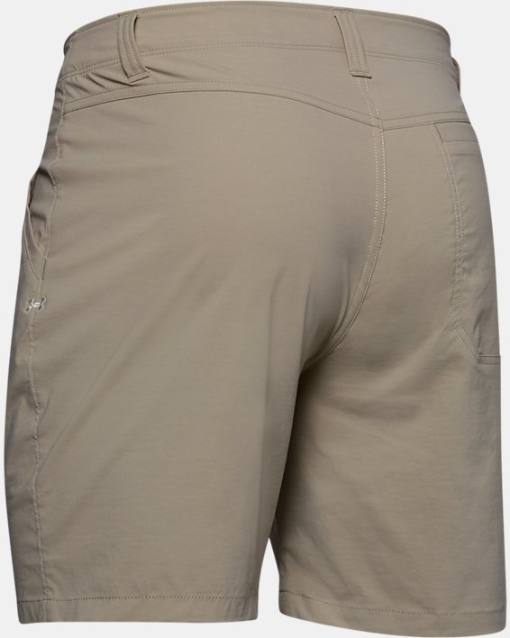 "Men's UA Fish Hunter 8"" Shorts, Brown, pdpMainDesktop image number 5"