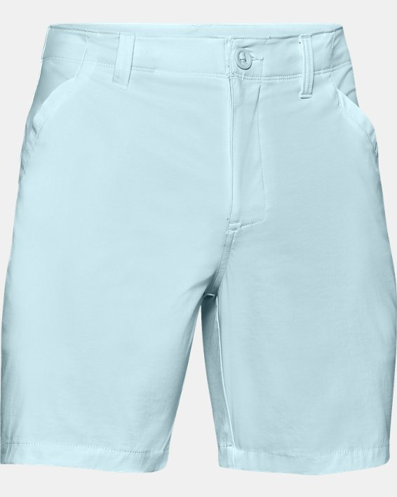 "Men's UA Fish Hunter 8"" Shorts, Blue, pdpMainDesktop image number 4"