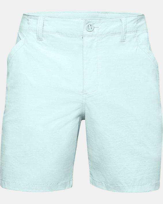 "Men's UA Fish Hunter 8"" Shorts, Blue, pdpMainDesktop image number 0"
