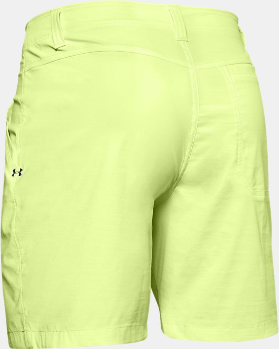 "Men's UA Fish Hunter 8"" Shorts, Yellow, pdpMainDesktop image number 5"