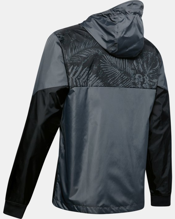 Men's Project Rock Legacy Windbreaker Jacket, Black, pdpMainDesktop image number 4