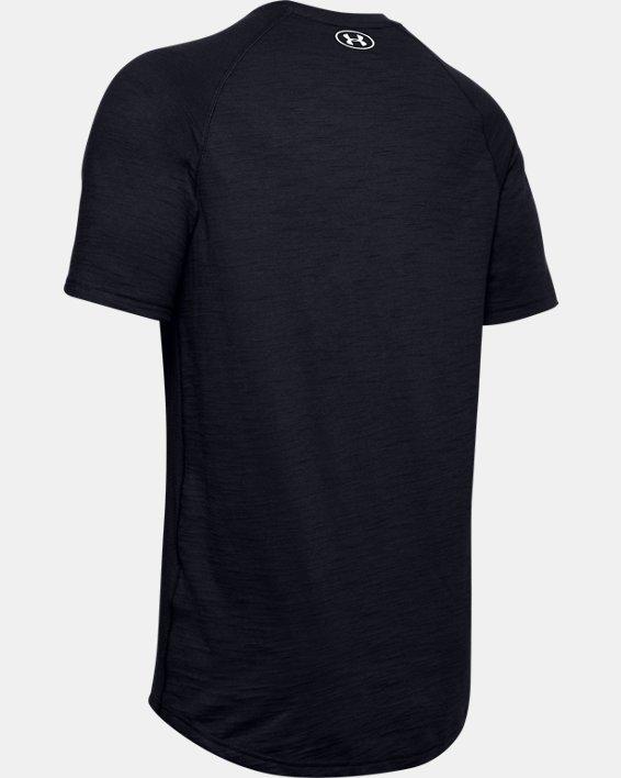 Men's Charged Cotton® Short Sleeve, Black, pdpMainDesktop image number 5