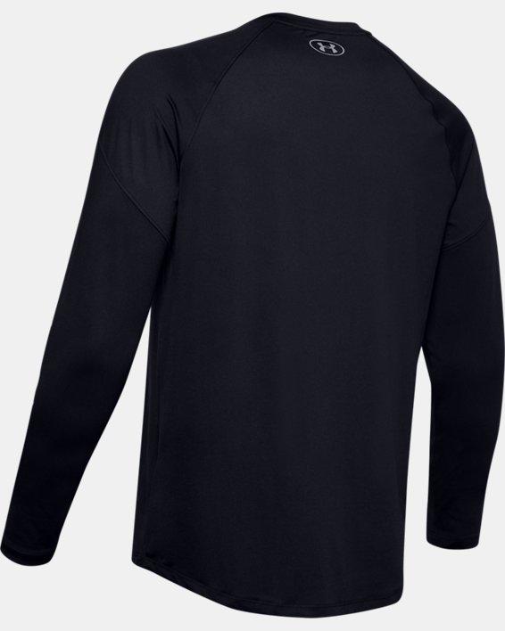 Men's UA RECOVER™ Long Sleeve, Black, pdpMainDesktop image number 5