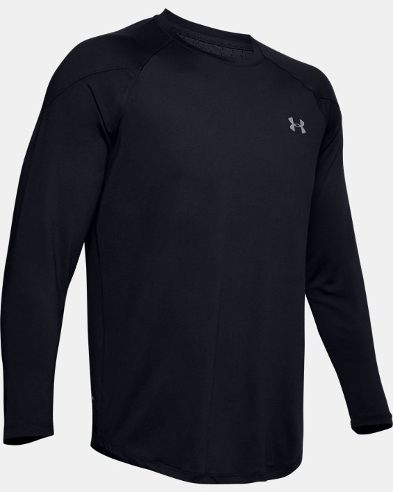 Men's UA RECOVER™ Long Sleeve, Black, pdpMainDesktop image number 4