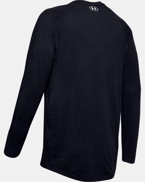 Men's Charged Cotton® Long Sleeve, Black, pdpMainDesktop image number 5